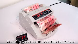 How to Use Professional Bill Counter with Automatic Counterfeit Detection and Batching Function