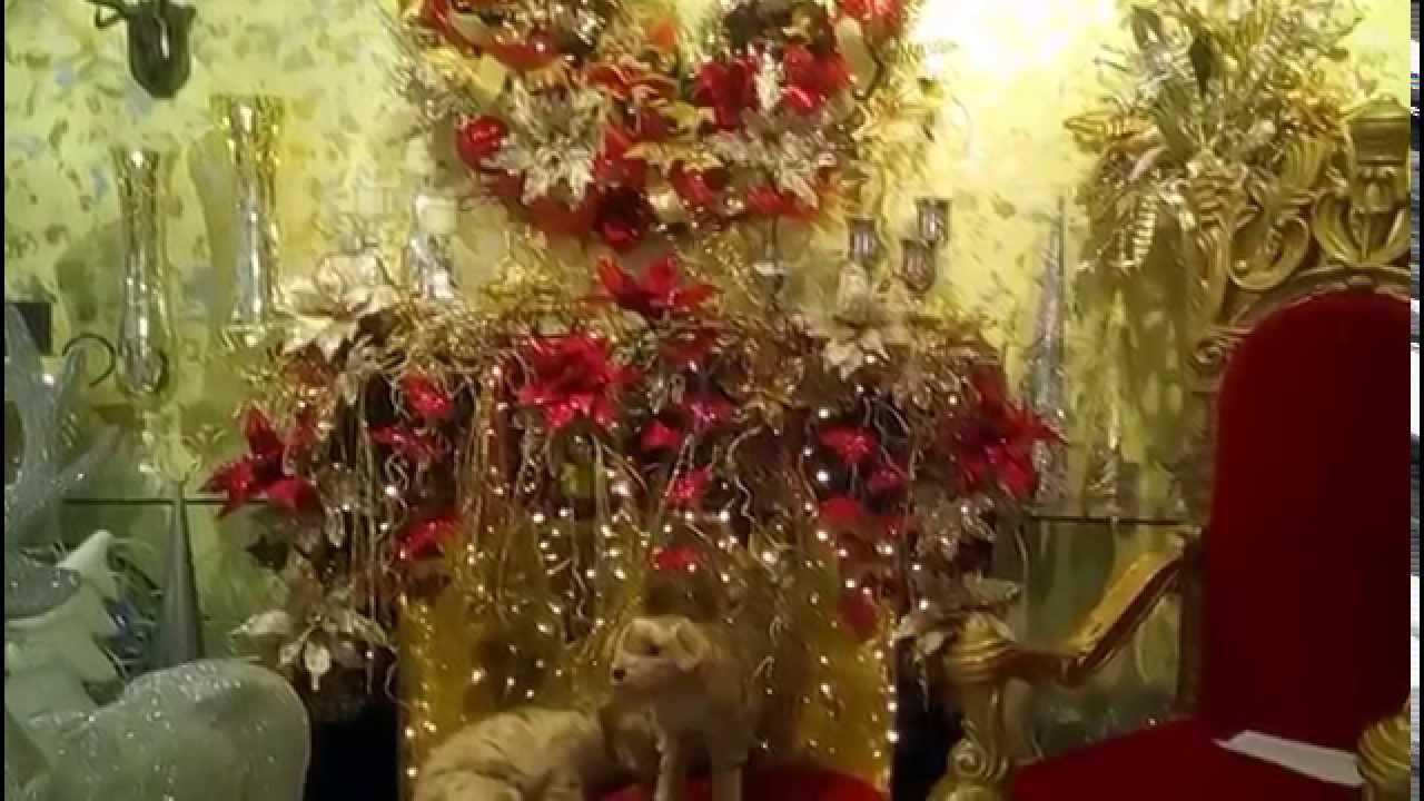 decoraci n para chimenea en navidad 2017 corona navide a. Black Bedroom Furniture Sets. Home Design Ideas