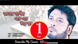 Sonar pakhira || mosiur rahman official song bangla islamic 4k