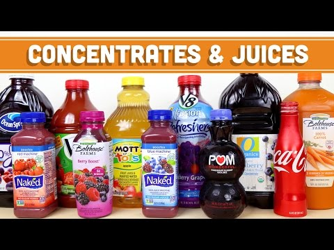 Concentrates, Juices & Smoothies: How To Make Healthy Choices! FAN REQUESTED VIDEO! Mind Over Munch