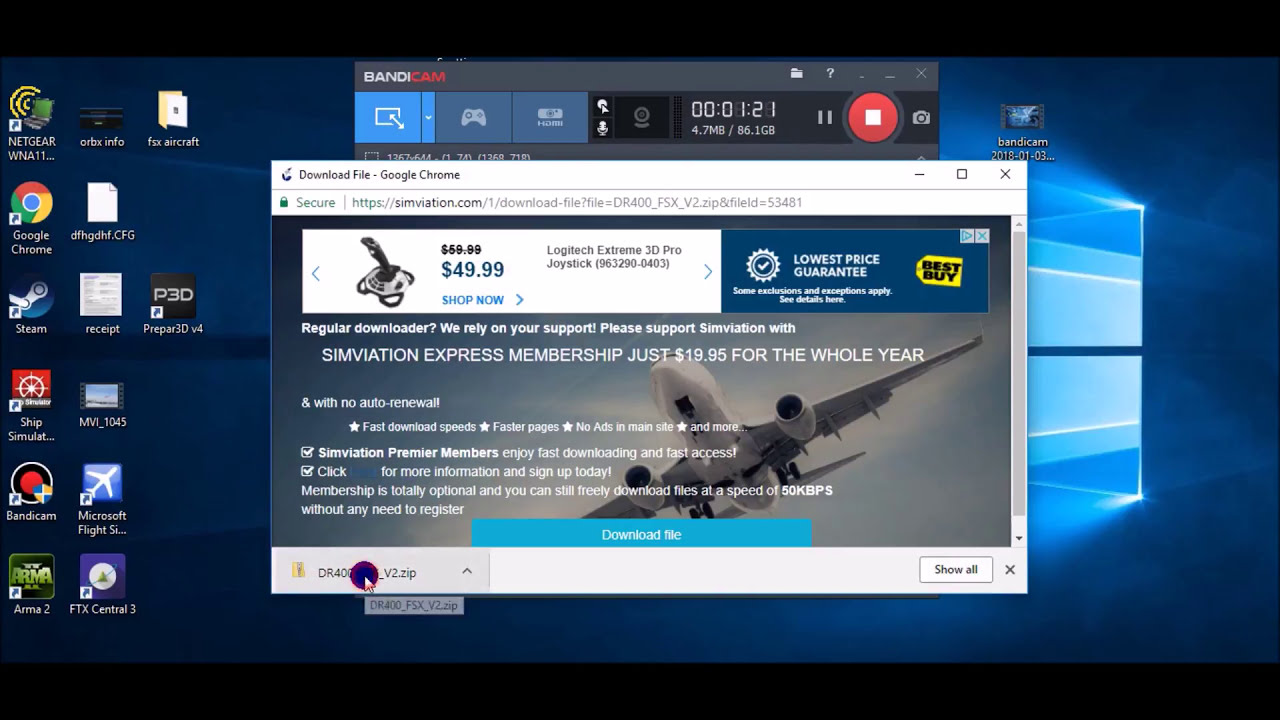 How To Install New Free Aircraft To Fsx / Microsoft Flight Simulator X  Steam Edition  Aviation Nation 12:15 HD
