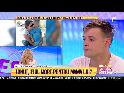 Lacrimi și durere în sufletul lui Ionuț, tânărul care a fost părăsit de mamă la două luni