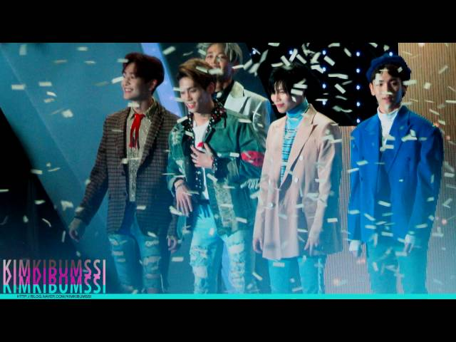 [HD] 161008 DMC FESTIVAL 2016 MBC KOREAN MUSIC WAVE _ SHINee _ ending