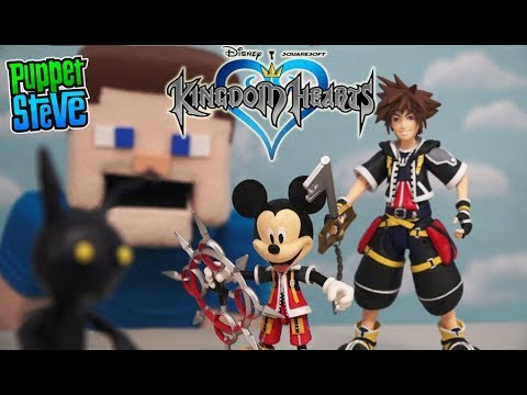 Disney Mickey Mouse Kingdom Hearts 3 Action Figures pop Square Enix DST toys Unboxing music