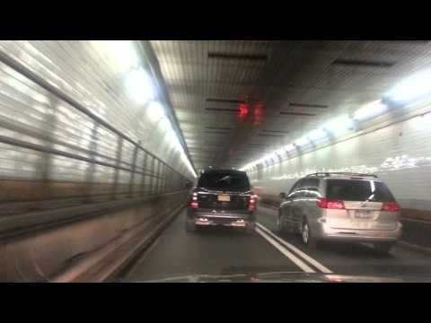 Holland Tunnel from NY to NJ