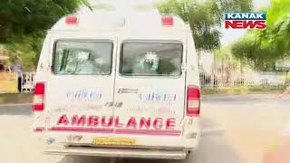 Green Corridor: Ambulance With Vigilance Director Debasis Panigrahi Races For Bhubaneswar Airport