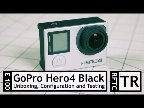 RFTC: GoPro Hero 4 Black Edition Unboxing, Setup and FPV Flight Testing
