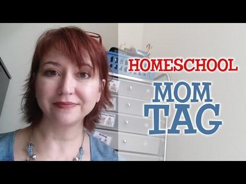 Homeschool Mom Tag!  A Fun Q & A!