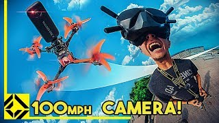 360° Camera on a Racing Drone!