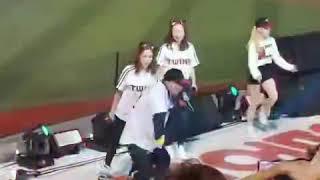 이상민 랩 잠실운동징에서^^