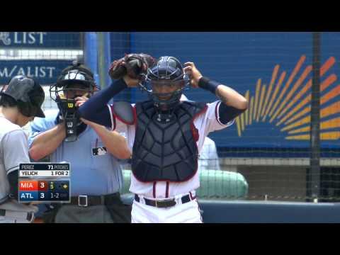 MLB 2015 02 Sept Atlanta Braves vs Miami Marlins
