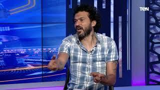 حسام حسن كان مهاجم سهل بالنسبالي جدًا.. إبراهيم سعيد يكشف عن أصعب مهاجم واجهه في تاريخه