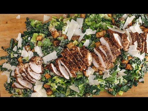 Statement Salad: Rachael's Tahini Caesar with Boneless Chicken Za'atar