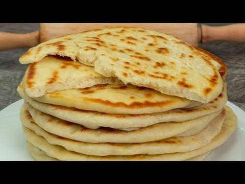 la-plus-simple-recette-de-nourriture---pain-pita-fait-maison-!-|-savoureux.tv