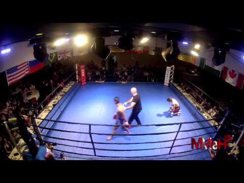 Tiiapis vs Knapp - Muay Thai