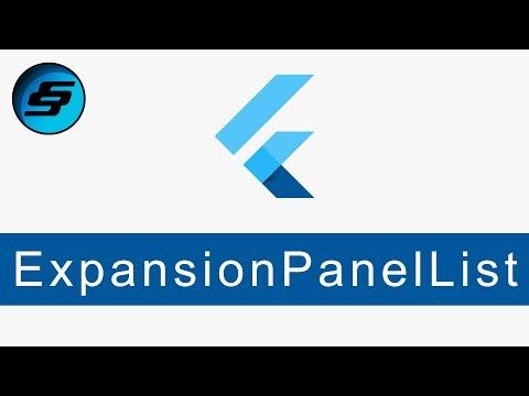 ExpansionPanelList and ExpansionPanel - Flutter Programming thumbnail