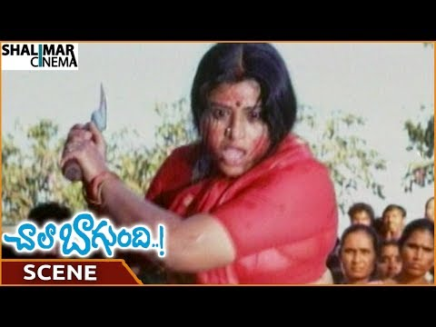 Chala Bagundi Movie || Sudha Destroys Ravi Babu For Teasing Women || Srikanth || Shalimarcinema