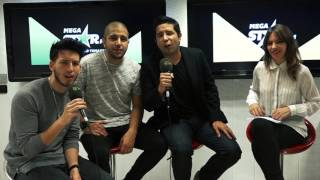MegaStarFM - Entrevista con Cali y el Dandee y Sebastián Yatra