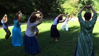2. Урок танцев /Киев. Семинар 7-9 августа 2018/