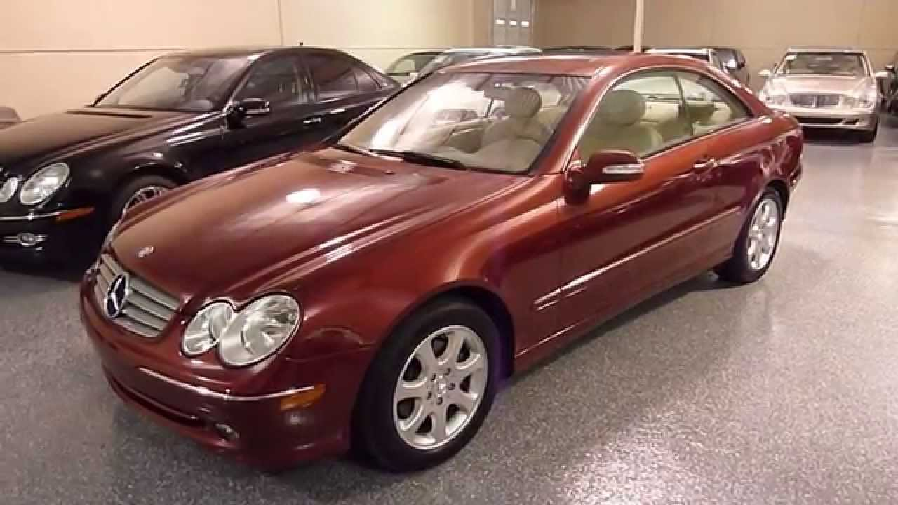 2004 mercedes benz clk320 3 2l 2dr coupe sold 2409. Black Bedroom Furniture Sets. Home Design Ideas