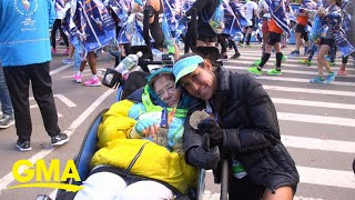 Record-breaking: 2 women are setting the pace for an amazing marathon feat l GMA Digital