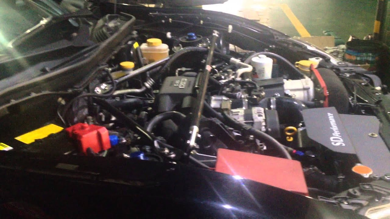 SDP Rotrex Supercharged Toyota GT86 - First Run