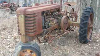 Old Farm Tractors in Junk Yards
