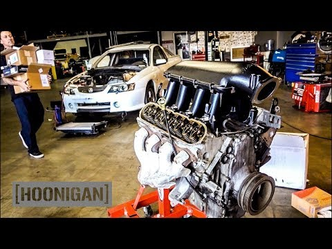 [HOONIGAN] DT 117: Forza Holden Ute V8 Gets Closer to Burnouts (New Holley Performance Parts!)