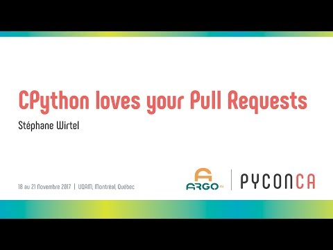Image from CPython loves your Pull Requests