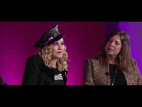 Madonna  Marilyn Minter Brooklin Talks   2017 HD