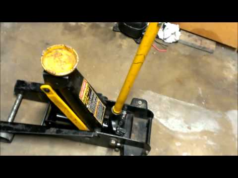 How to fix a leaking floor jack