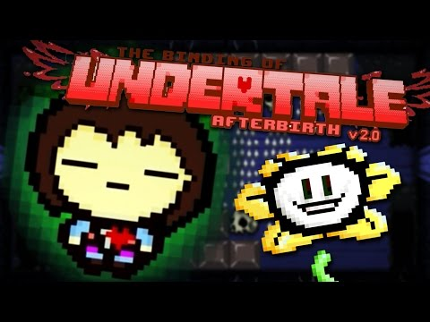 CRYING WITH DETERMINATION!  The Binding of Undertale 1