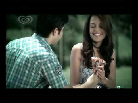 Bidita Bag || Kwality Walls Cornetto Tvc India - YouTube