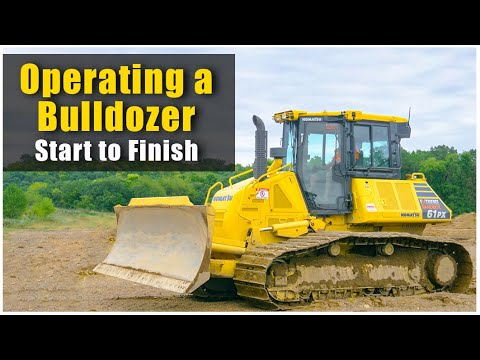How To Operate A Bulldozer (2019): Pre-Op To Shutdown | Heavy Equipment Operator