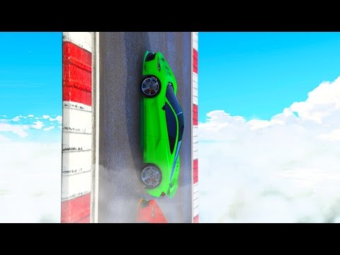 Thumbnail: IMPOSSIBLE VERTICAL CHALLENGE! (GTA 5 Funny Moments)