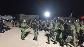 Fuerzas Especiales  del Ejército Mexicano llegan a Culiacán, Sin.