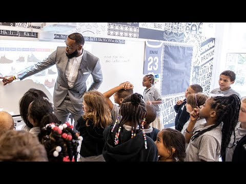 Is LeBron James Writing the Playbook for Quality Public Schools?