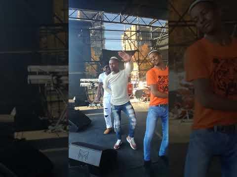 Limpopo Boy Bujwa preforming live at EFF