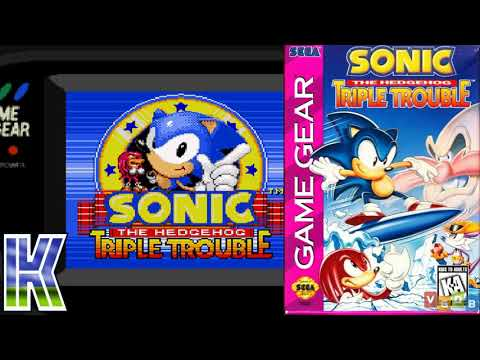 Sonic Triple Trouble Game Gear Rom Youtube