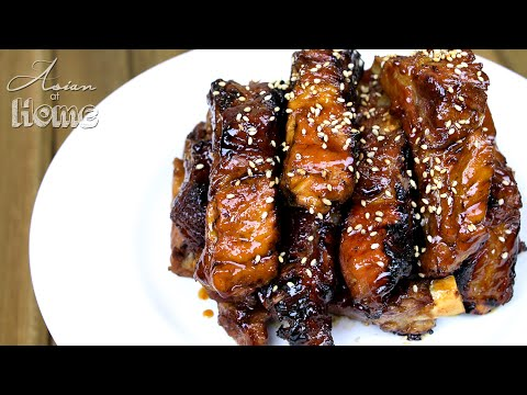 1 Minute Recipe | Chinese Style Sticky Ribs
