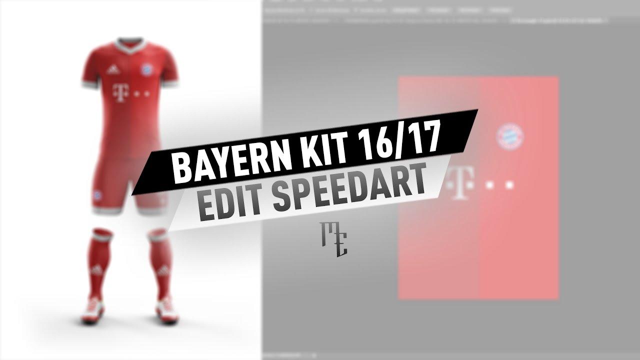 6afb59d0a Bayern Home Kit Concept Edit Speedart - MatzEdits - YouTube