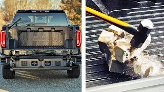 Carbon Pickup Bed – Strength Test – 2019 GMC Sierra CarbonPro Edition