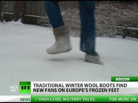 V for Valenki: Russian boots find fans on Europe's frozen feet