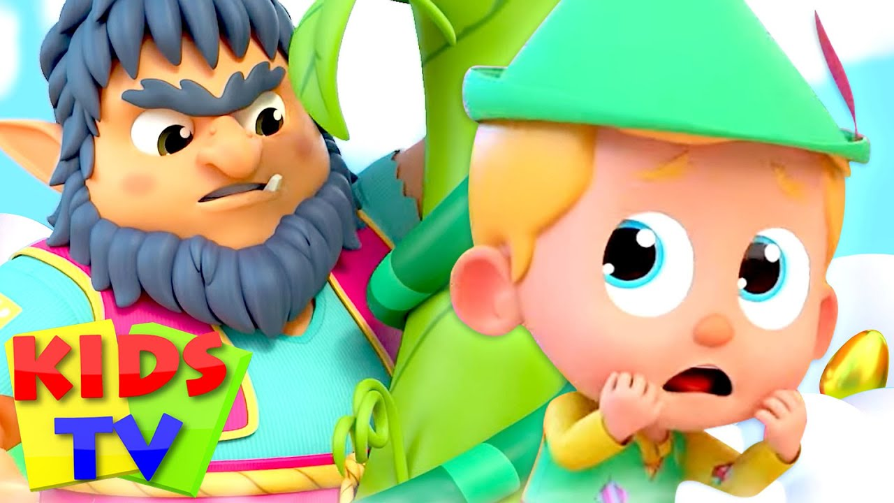 Jack and The Beanstalk Story | Pretend Play Songs & Cartoon Stories for Babies | Kids Tv Rhymes