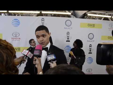 Trevor Noah Talks Black Excellence at The NAACP Image Awards