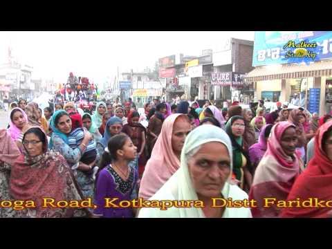 Kotkapura City Nagar Kirtan Gurpurab,Kirtan  Darbar