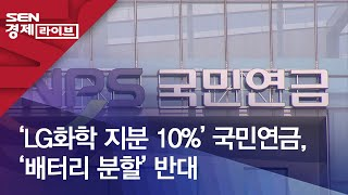 'LG화학 지분 10%…