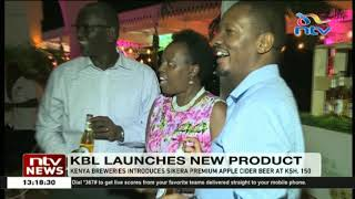 Gambar cover KBL launches new beverage, Sikera Premium Apple Cider beer 🍺