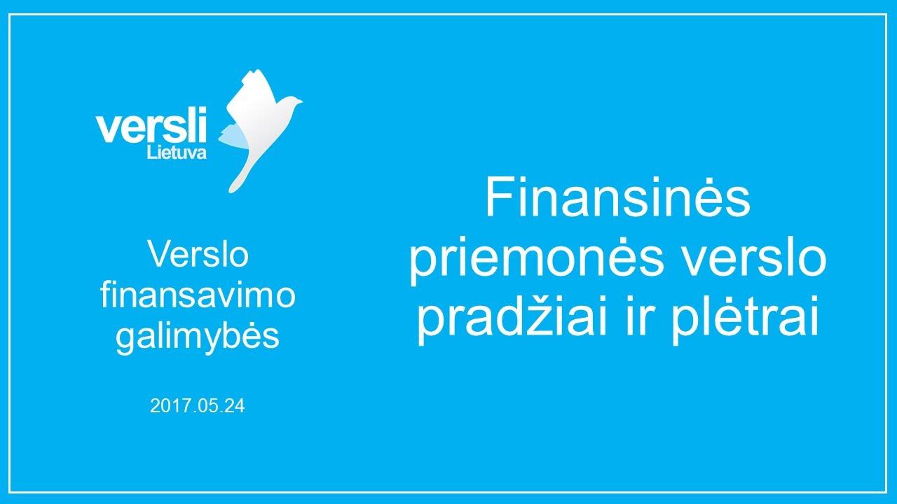 prekybos finansavimo galimybės)