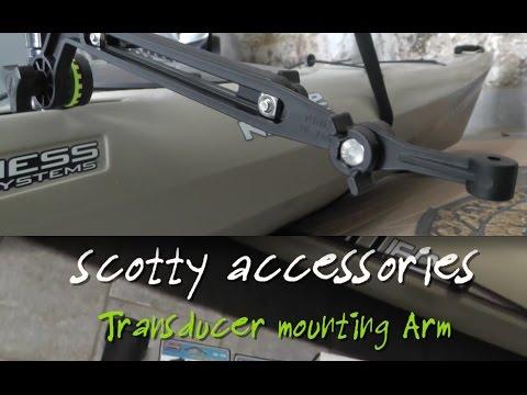Scotty Kayak braccio trasduttore - Kayak fishing Transducer Arm Mount